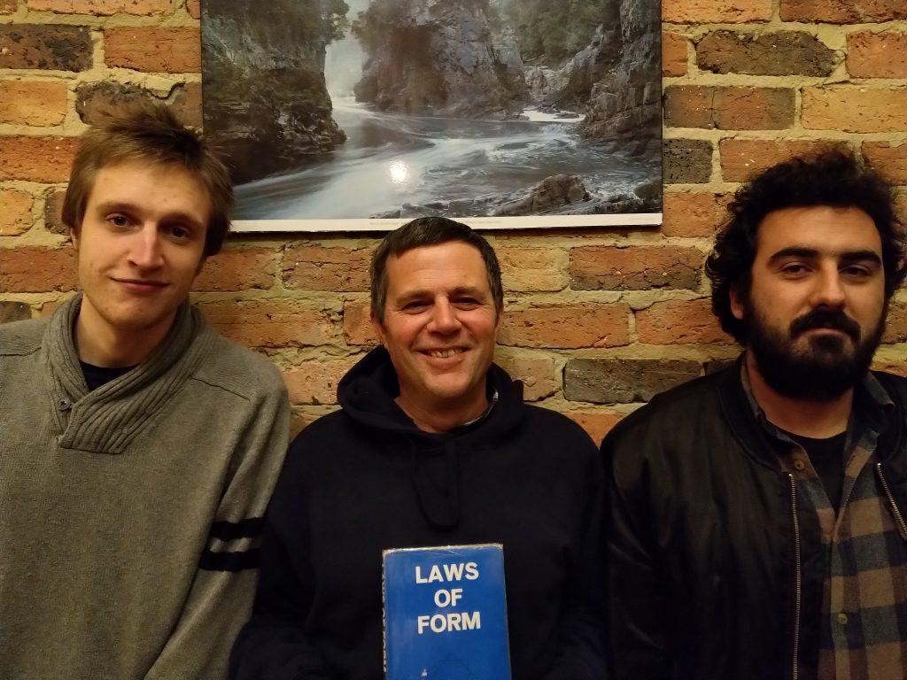 Angus, Bernie and David
