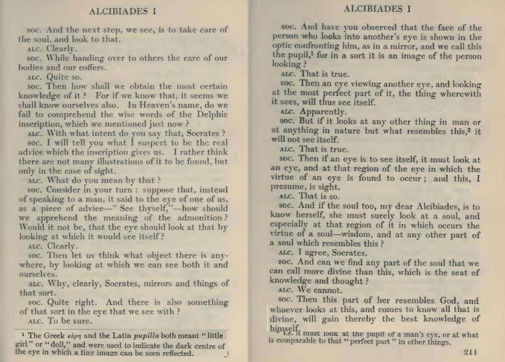 Alcibiades I p 332-3 by Plato (?)