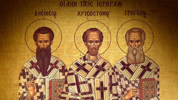 St Basil, St John Chrysostom and St Gregory the Theologian