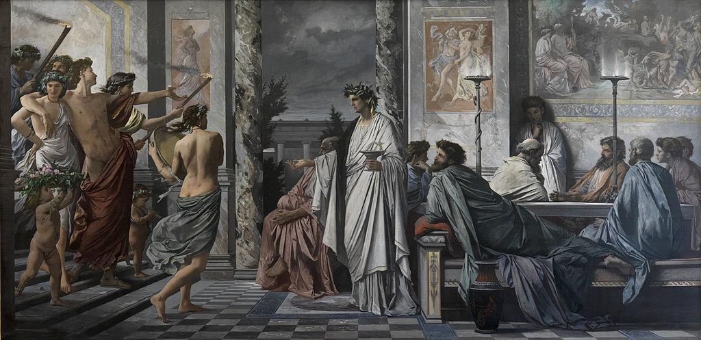 Das Gastmahl des Platon (1869) by Anselm Feuerbach | Source: Wikipedia