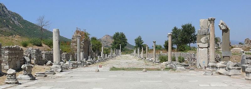 Street view in Ephesus